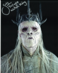 Shane Rangi, Whitch King, Lord of the Rings, Genuine Signed Autograph,  10437